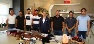 Türkiye Kriket Milli Takımı başarısını Bozbey ile paylaştı
