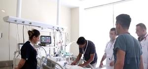 Kayseri Şehir Hastanesinde İlk Kez  Balon Anjiyoplasti İşlemiyle Tedavi Gerçekleştirildi