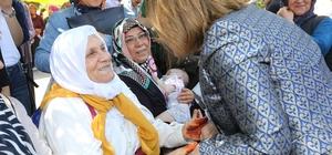 Fatma Şahin hacı adaylarını uğurladı