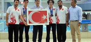 Denizi olmayan Gaziantep'ten Avrupa Yüzme Şampiyonluğuna Gaziantepli genç sporculardan büyük başarı