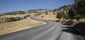 Şırnak'ta yol asfaltlama çalışması devam ediyor