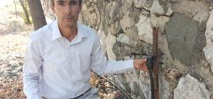 Hırsızlar bu defa cami ve mezarlıklara dadandı Muhtar, cami ve mezarlık musluklarını çalan hırsızlara isyan etti