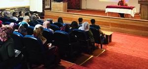 Engelli öğrenci velilerine cinsel istismardan korunma yolları anlatıldı