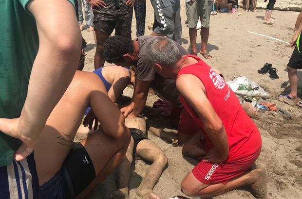 6 yaşındaki çocuk, Kandıra sahilinde boğuldu Boğulma tehlikesi geçiren 4 kişilik aileden 3'ü kurtarılabildi