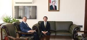 Başsavcı Karabacak Vali Kalkancı ile bir araya geldi