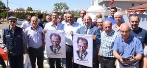 Alaybey Mahallesi'nde Atatürk heykeli açılışı gerçekleştirildi