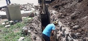 Manisa'da altyapı ihtiyaçları karşılanıyor
