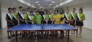 Gençlerin hedefi Türkiye şampiyonluğu Tepebaşı Su Sporları Merkezi'nde çalışmalar sürüyor