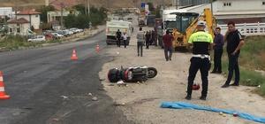 Çankırı'da kamyon motosiklete çarptı: 1 ölü