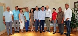 TÜRSAB Bodrum Yeni Yürütme Kurulundan Başkan Kocadon'a ziyaret