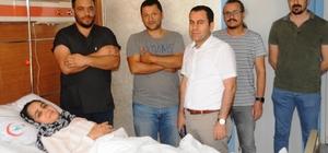 Yatalak geldiği hastaneden yürüyerek çıktı 4 yıl önce rahatsızlanıp yatağa mahkum olan 26 yaşındaki kadın, Cizre'de geçirdiği operasyonun ardından yürümeye başladı