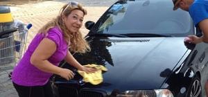 Araçlar hanımağa ile güzelleşiyor