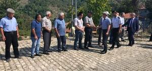 Vali Çınar, Dereköy Okulunu inceledi