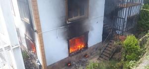 FETÖ'den kapanan yurtta çıkan yangın korkuttu Çıkan yangında kundaklama şüphesi