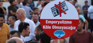 ABD'nin ekonomik baskıları Van'da protesto edildi