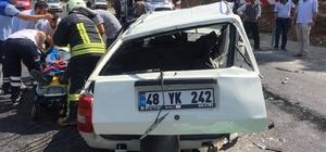 Muğla'da zincirleme trafik kazası: 3 yaralı Muğla'nın Kavaklıdere ilçesinde 3 aracın karıştığı zincirleme trafik kazasında üç kişi yaralandı