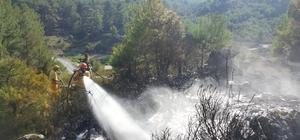 Orman yangını yerleşim yerine sıçramadan söndürüldü Muğla'nın Yatağan ilçesinde çıkan orman yangını, yerleşim yerine sıçramadan orman ekipleri tarafından kısa sürede söndürüldü