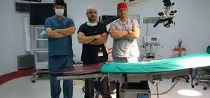 Uşak Üniversite Hastanesinde mikrocerrahi ameliyatlarına başlandı