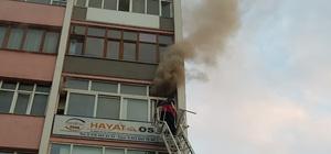 Karabük'te iş yerinde yangın