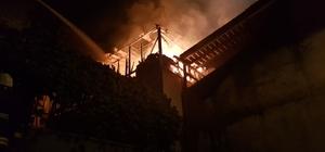 Mağaza deposunda yangın Yalova'da bir mağazanın deposunda çıkan yangında beyaz eşyalar kül oldu