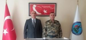 Hava Meydan Komutanı Canbulat'tan Mehmetçik Vakfına ziyaret