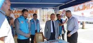 Başkan Çolakbayrakdar, Türkiye Diyanet Vakfı standında
