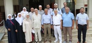 Gebzeli Hacıları Başkan Köşker Uğurladı