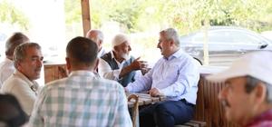 """Başkan Baran """"Köylerimiz hizmetin en güzelini hak ediyor"""""""