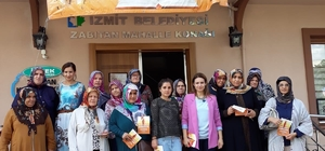 İzmit'te kadınlar bilgilendiriliyor