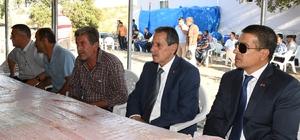 Vali Kalkancı'dan vefat eden askerin ailesi ile bir araya geldi