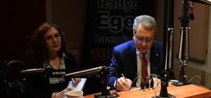 """Prof. Dr. Budak, projelerini """"Egevizyon""""da anlatıyor"""