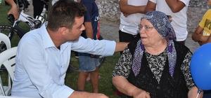 Başkan Sarıkurt Havuzlar Mahallesi'ne konuk oldu