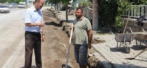 Başkan Bozkurt yatırımları inceledi