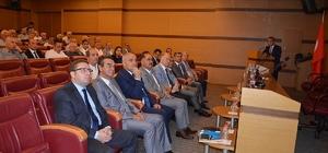 """Tekirdağ'ın ekonomisi mercek altına alındı Vali Ceylan: """"Bölgedeki potansiyeli arttırmamız gerekiyor"""""""