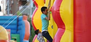 Eğlence Parkı çocukları mutlu etti