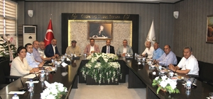 Oğuzeli Belediye Başkanı Kılıç'tan GTB'ye ziyaret