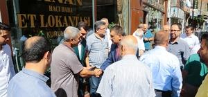Başkan Gürkan esnaflar ile bir araya geldi