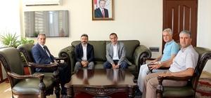 Ahmet Aydın proje ve yatırımları değerlendirdi