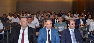 DİKA, Şırnak'ta yurtdışı destekleri bilgilendirme toplantısı yaptı
