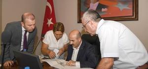 Vali Demirtaş, Dsi Bölge ve Çevre Şehircilik İl Müdürlüğü yetkilileri ile bir araya geldi