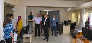 Vali Demirtaş, Ehliyet ve Pasaport Verme Biriminde incelemelerde bulundu