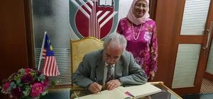 Erzurum Teknik Üniversitesi Rektörü Prof. Dr. Muammer Yaylalı'nın Malezya Putra Üniversitesi ziyareti