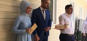 8.8.2018'de nikah sonrası doğum günü kutladılar Denizli'de 8.8.2018 evlilik çılgınlığı 8.8.2018 evlilik çılgınlığına doğum gününü de eklediler
