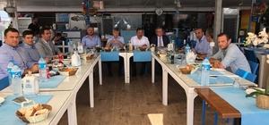 Zonguldak Valisi Çınar OSB toplantısına katıldı