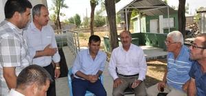 Ak Parti Bulanık ilçe başkan Ali Bulut, çiftçilerin sorunlarını dile getirdi