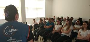 AFAD'tan hastane çalışanlarına eğitim