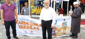 Ağrı'da Kurban Bağış Kampanyası standı kuruldu