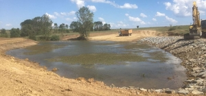 Hayvanlar için içme suyu göleti yapım ve onarımları hızla devam ediyor