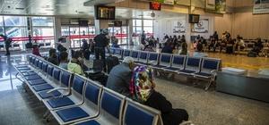 Temmuz ayında Erzurum Havalimanı'nda 119 bin 106 yolcuya hizmet verildi