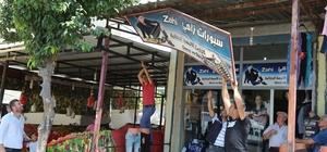 Adana'da Arapça tabela, poster ve afişler kaldırıldı Suriyelilere ait işyerlerinde Türkçe olmayan tabelalar söküldü